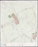 1974-981 Topografische kaart van Rotterdam en omstreken   bestaande uit 32 bladen. Blad 5a: Pijnacker.