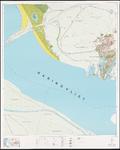 1974-986 Topografische kaart van Rotterdam en omstreken | bestaande uit 32 bladen. Blad 8a: Hellevoetsluis.