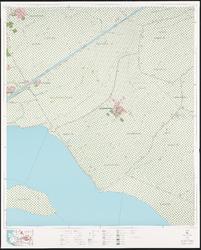 1974-987 Topografische kaart van Rotterdam en omstreken   bestaande uit 32 bladen. Blad 9a: Oudenhoorn.