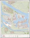 1974-988 Topografische kaart van Rotterdam e.o.   bestaande uit 31 bladen. Blad 10: Botlek.