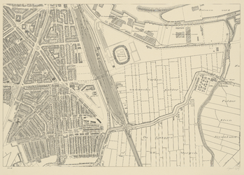 1975-1179-12K Blad 12: Vreewijk, Varkenoordsche Polder en Hillesluis.