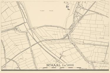 1975-1179-18C Blad 18: Zuidhoek: Vliegveld Waalhaven; polder Nieuw Pendrecht.