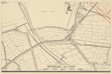 1975-1179-18D Blad 18: Zuidhoek: Vliegveld Waalhaven; polder Nieuw Pendrecht.