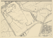 1975-1179-1G Plattegrond der gemeente Rotterdam op schaal 1 à 5000. Blad 1: Overschie.
