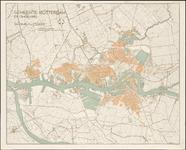 1975-1221 Plattegrond van Rotterdam en omgeving.