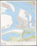 1975-1226 Topografische kaart van Rotterdam bestaande uit 31 bladen. Blad 1: Europoort-West