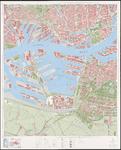 1975-1231 Topografische kaart van Rotterdam e.o. | bestaande uit 31 bladen. Blad 12: Waalhaven.