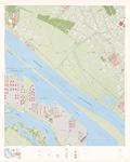1976-2104 Topografische kaart van Rotterdam en omstreken | bestaande uit 32 bladen. Blad 2: Europoort Oost.