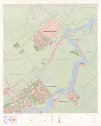 1976-2106 Topografische kaart van Rotterdam en omstreken | bestaande uit 32 bladen. Blad 7: Capelle aan den IJssel.