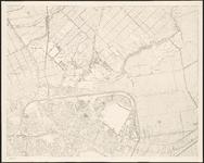 1983-4758-2 Plattegrond van Rotterdam en omgeving in vier bladen: blad 2 rechts boven: Rotterdam (noordelijk deel) met ...