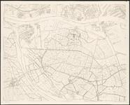 1983-4758-3 Plattegrond van Rotterdam en omgeving in vier bladen: blad 3 links onder: West-IJsselmonde: Hoogvliet, ...