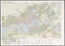 1985-1-1 Plattegrond van Rotterdam en omgeving (stadsagglomeratie)
