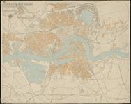 1986-1972 Straatnamenkaart van Rotterdam en omgeving