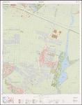 1988-697 Topografische kaart van Rotterdam en omstreken | bestaande uit 32 bladen. Blad 6a: Bleiswijk, Bergschenhoek en ...