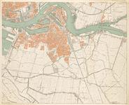 1988-902 Kaart van Rotterdam en omgeving in 4 bladen: blad 4, rechtsonder: Rotterdam-Zuid.