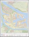 1989-643 Topografische kaart van Rotterdam en omstreken | bestaande uit 32 bladen. Blad 10: Botlek.