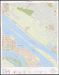 1991-552 Topografische kaart van Rotterdam e.o. | bestaande uit 32 bladen. Blad 2: Europoort-Oost.