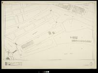 2006-886-11 Kaart van het verwoeste gebied in het centrum van Rotterdam, blad 11: omgeving Haringvliet en Nieuwehaven.
