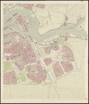2007-44 Kaart van Rotterdam en omgeving in 31 bladen. Blad 13: Groot-IJsselmonde, Lombardijen, Vreewijk, Bloemhof, ...