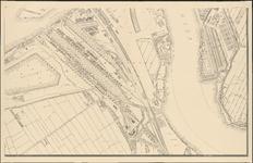 I-114-6 Plattegrond van Rotterdam. Blad 6: het afgebeelde gebied omvat Feijenoord, de Nieuwe Maas en het terrein van ...
