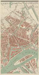 I-118-3 Plattegrond van Rotterdam bestaande uit 10 bladen. Blad 3: Oude Noorden, Rotterdam-Centrum, Noordereiland en ...