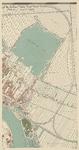 I-118-4 Plattegrond van Rotterdam bestaande uit 10 bladen. Blad 4: Kralingse Plas en Kralingen.