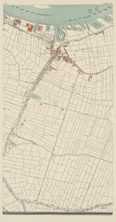 I-118-7 Plattegrond van Rotterdam bestaande uit 10 bladen.. Blad 7: Charlois, polder van Charlois.