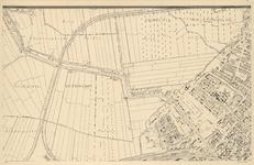 I-127-1 Plattegrond van Rotterdam. Blad 1: het afgebeelde gebied omvat een deel de gemeente Overschie, een deel van de ...