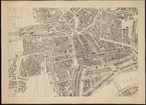 I-138-02-5 Plattegrond van Rotterdam in 12 bladen. Blad 5: Middelland; Oude Westen; Cool; Stadsdriehoek; ...