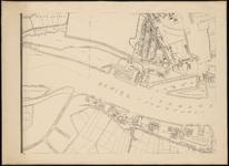 I-138-02-7 Plattegrond van Rotterdam in 12 bladen. Blad 7: Delfshaven; Nieuwe Maas; Kortenoordsche Haven; Sluisjesdijk
