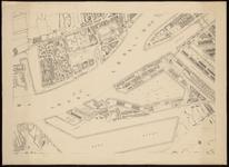 I-138-02-8 Plattegrond van Rotterdam in 12 bladen. Blad 8: het Park; het Nieuwe Werk; Noordereiland; Maashaven; ...