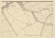 I-153-1 Blad 1: gemeente Overschie, Kleinepolder, Laag Oudendijkschepolder en Hoog Oudendijkschepolder.