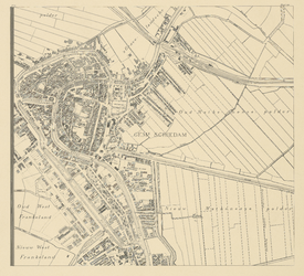 I-153-14 Blad 14: Schiedam, Oud-Mathenesse, Nieuw-Mathenesse.