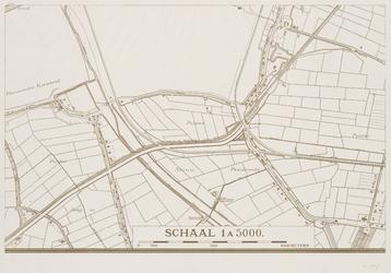 I-216-02-18 Plattegrond van Rotterdam en omgeving in 49 bladen. Blad 18: Waalhaven-Zuid, polder Nieuw Pendrecht.