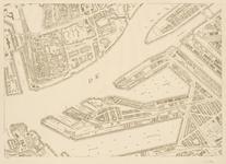 I-216-02-8 Plattegrond van Rotterdam in 49 bladen. Blad 8: Het Nieuwe Werk, de Nieuwe Maas en Katendrecht.