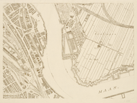 I-216-02-9 Plattegrond van Rotterdam in 49 bladen. Blad 9: Feijenoord en De Esch.