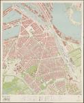 I-259-17 Kaart van Rotterdam en omgeving; bestaande uit 24 bladen. Blad 17: Afrikaanderwijk, Tarwewijk, Bloemhof, ...