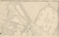 I-97-4 Plattegrond van Rotterdam. Blad 4: het afgebeelde gebied omvat een deel van Rotterdam-Noord met onder meer de ...