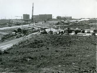 1968-1144 De Prins Alexanderlaan, gezien vanaf station Rotterdam-Alexander.