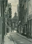 1968-608 De Keizerstraat.Op de achtergrond de Lutherse Kerk aan de Wolfshoek.