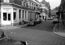 1969-2647 Gezicht in de Gaffeldwarsstraat met op de voorgrond de Gaffelstraat en de zijstraten Sint-Mariastraat en de ...