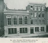1970-198 Het pand van de Gemeentelijke Arbeidsbeurs aan de Kipstraat.