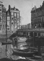 1971-43 De Kolk, links de Mosseltrap, rechts Plan C.