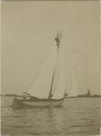 1971-99 Motorboot op de Kralingse Plas.