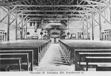 1973-272 Interieur RK hulpkerk van H. Antonius Abt aan de Jan Kruijffstraat.