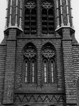 1974-669 De fragmenten van de toren van de rooms-katholieke kerk van de Allerheiligste Verlosser.