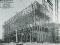 1976-393 Bouw van elektriciteitsfabriek van GEB aan de Galileistraat.