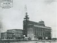 1976-394 Bouw van elektriciteitsfabriek van GEB aan de Galileistraat.