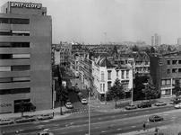1977-2099 Saftlevenstraat gezien vanuit het dak van het Instituut voor Scheepvaart en Scheepsbouw aan de Rochussenstraat.