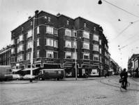 1977-463 Goudse Rijweg, vanaf de Vlietlaan. Linkerzijde de Vlietkade.